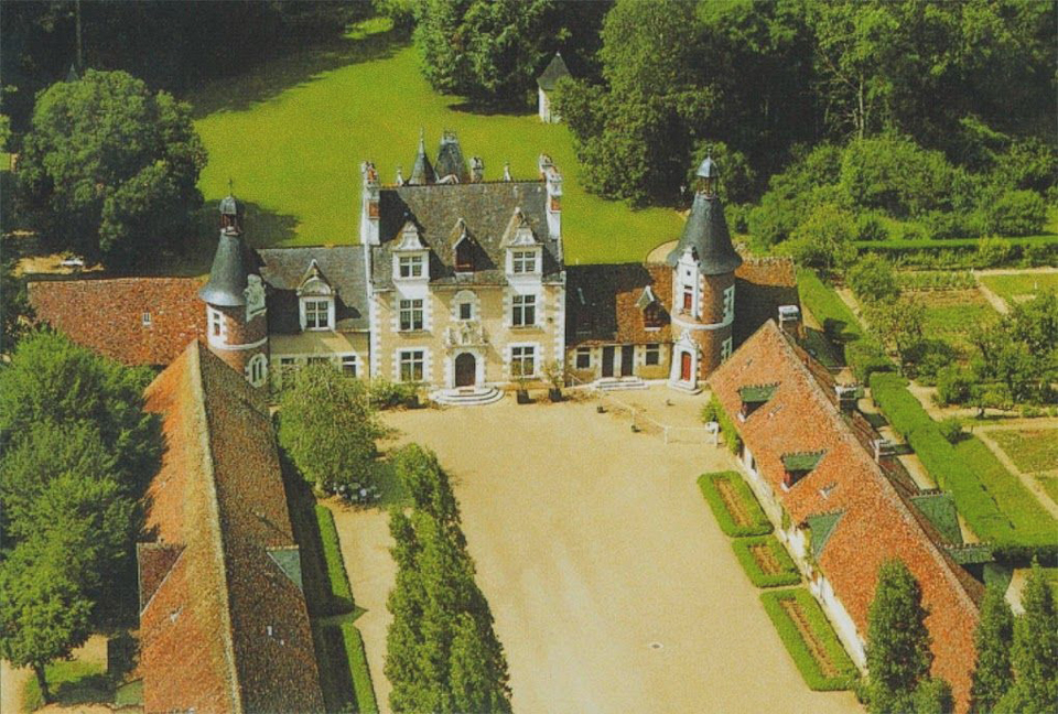 Cottages in the Château de Troussay